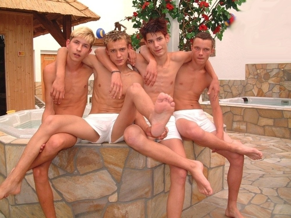 Teenage boys group gay sex movie hot party 9