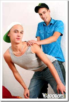 Lukas Wild and Xavier Powell
