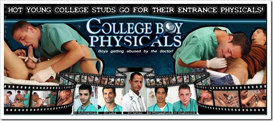 College Boy Physicals!