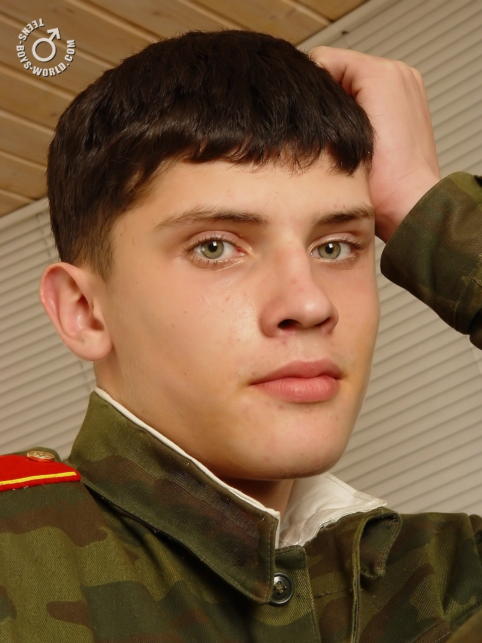 Russian teen boy model from