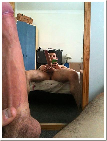 mirror-boner