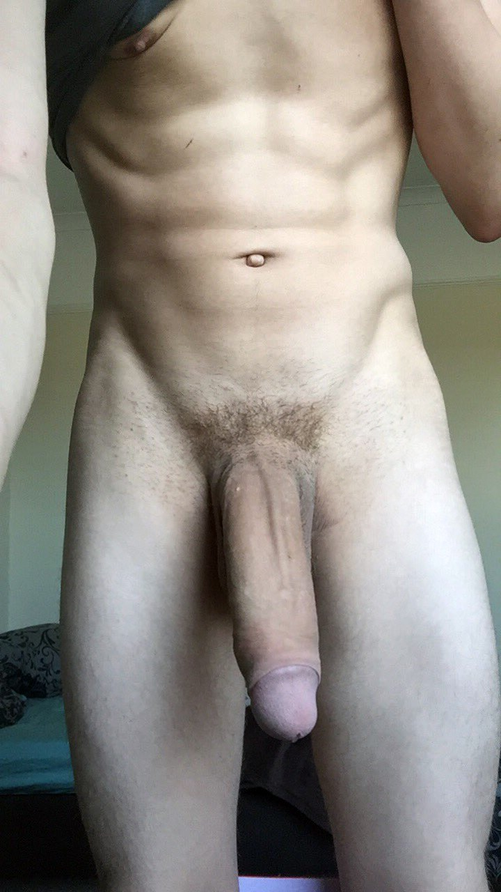 This boy hard huge cock